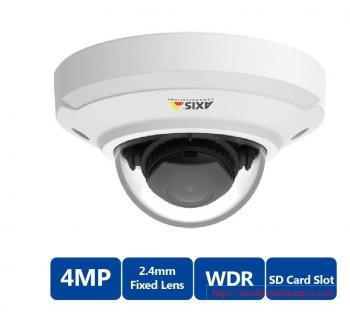 AXIS M3046-V 4MP Fixed Outdoor Mini Dome IP Security Camera