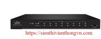 8-Port 10/100Mbps Ethernet PoE Switch UNV NSW2000-8T1GC-POE