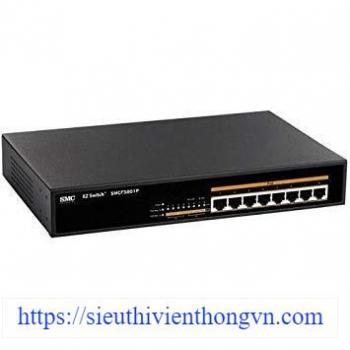 8-Port 10/100Mbps EZ Switch PoE SMC SMCFS801P