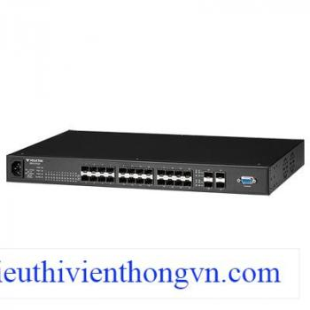 24 SFP slot 10/100Base-FX+4 SFP slot Gigabit Managed Switch VolkTek MEN-6328D