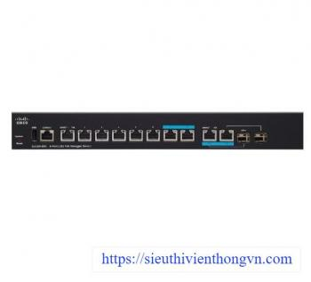 8-Port 2,5G PoE Managed Switch Cisco SG350-8PD-K9-EU