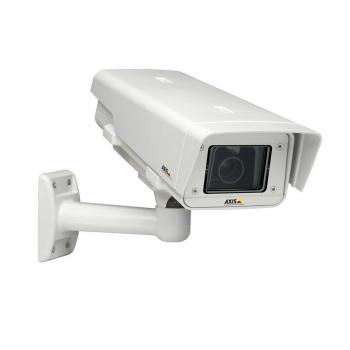 Axis Q1755-E 2MP Outdoor Bullet IP Security Camera - 5.1~51mm Lens, 10x Optical Zoom, 1/3