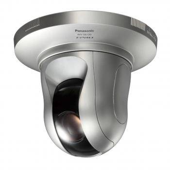 Panasonic WV-S6130 2MP H.265 Indoor PTZ Dome IP Security Camera - WDR 144dB