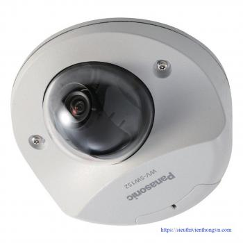 Panasonic WV-SW152 i-Pro 1.3MP Outdoor Dome IP Security Camera - H.264, Vandal Resistant, PoE, IP66