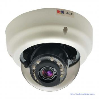 ACTi B61 5MP Indoor IR Dome IP Security Camera - Zoom lens