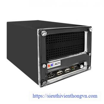 ACTi ENR-222-8TB 16-Channel H.265 Standalone NVR Network Video Recorder - 8TB Pre-installed HDD