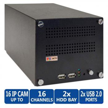 ACTi ENR-1200 16-channel Linux Network Video Recorder