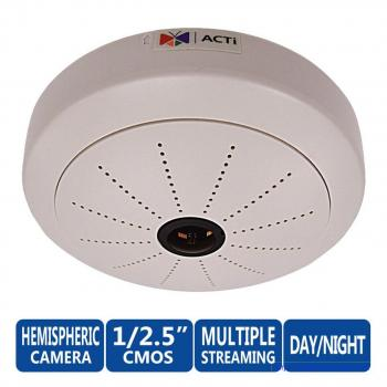 ACTi KCM-3911 4MP 360-degree Hemispheric IP Security Camera