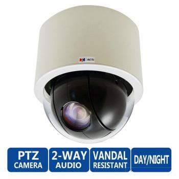 ACTi KCM-8111 Day/Night 2MP PTZ 18x Zoom IP Security Camera