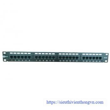 Patch panel 24 port IONNET CAT.5e, 19 inch