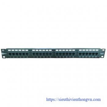 Patch panel 24 port IONNET CAT.6, 19 inch