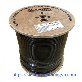 Cáp đồng trục-Coaxial cable Alantek RG-59 Standard Shield with Flooding Compound