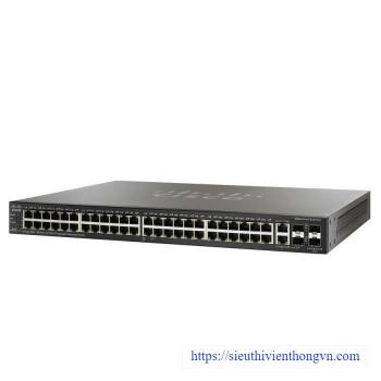 48-port 10/100Mbps PoE+ Managed Switch CISCO SF300-48PP-K9-EU