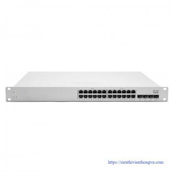 24-Port 10/100/1000Base-T Ethernet Cloud Managed Switch Meraki Cisco MS22