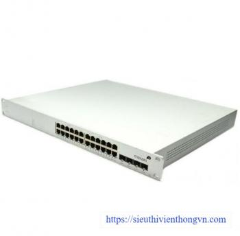 24-Port 10/100/1000Base-T Ethernet PoE Cloud Managed Switch Meraki Cisco MS22P
