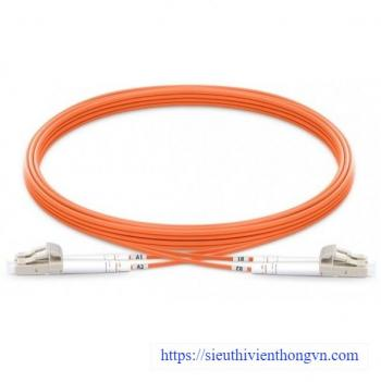 Fiber patch cord LC/LC Multi-mode OM2 50/125µm DINTEK (3 mét)