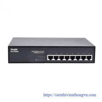 8-port 10/100/1000 Base-T Unmanaged Switch RUIJIE RG-S1808G