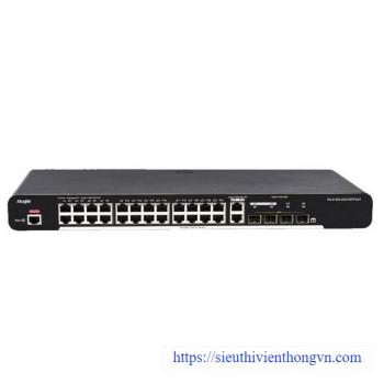 24-port 10/100/1000 Base-T Managed Switch RUIJIE RG-S1920-24GT4SFP/2GT