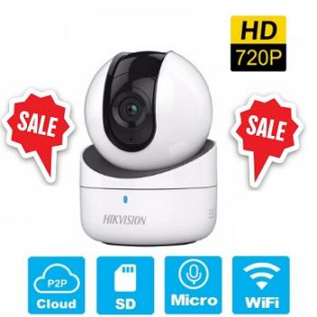 CAMERA HIKVISION IP 1MP WIFI GIA ĐÌNH DS-2CV2Q01EFD-IW