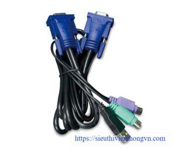 1.8M USB KVM Cable with built-in PS2 to USB Converter PLANET KVM-KC1-1.8