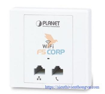 300Mbps 802.11n In-Wall PoE Wireless Access Point PLANET WNAP-W2201A