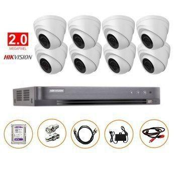 BỘ 08 CAMERA FULL-HD 2MP DS-2CE56D0T-IT3 GỒM ĐẦU GHI DS-7208HQHI-K1