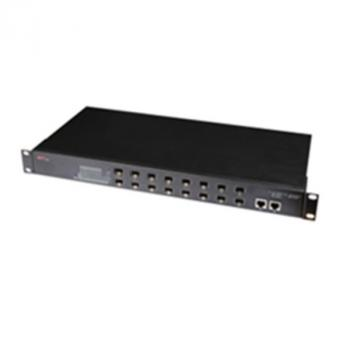 2-Port 10/100/1000Base-T(X) + 16-Port 100Base-F(X) Switch WINTOP YT-DS1018-16F2GT