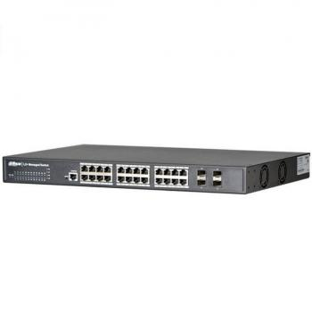24-port 10/100/1000Mbps Switch DAHUA PFS5424-24T