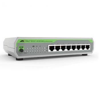 8-port 10/100TX Unmanaged Fast Ethenet Switch ALLIED TELESIS AT-FS710/8E