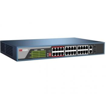 24-port 10/100Mbps PoE Switch HIKVISION DS-3E0326P-E