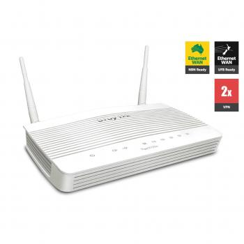 VPN, Firewall, Wireless Fiber, Load Balancing Router DrayTek Vigor2133n