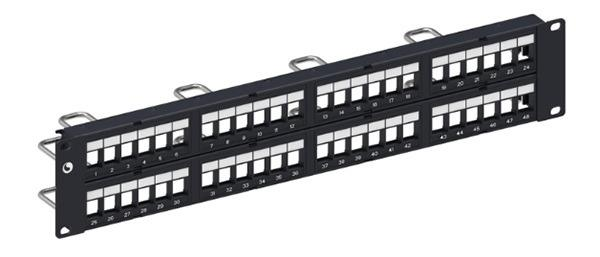 Patch panel 48 port COMMSCOPE CAT5E