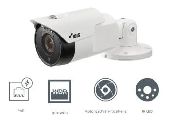 DC-T4233HRX-Camera IP Thân trụ IDIS IR Full HD 2MP