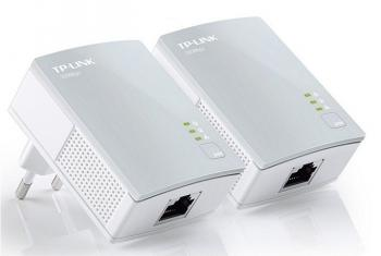 500Mbps AV500 Nano Powerline Adapter Starter Kit TP-LINK TL-PA4010KIT