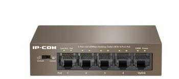 4-port 10/100Mbps PoE Switch IP-COM S1105-4-PWR-H