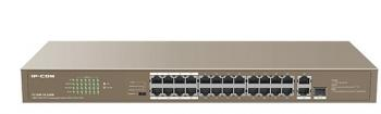 24-Port PoE 10/100Mbps PoE Switch IP-COM F1126P-24-250W