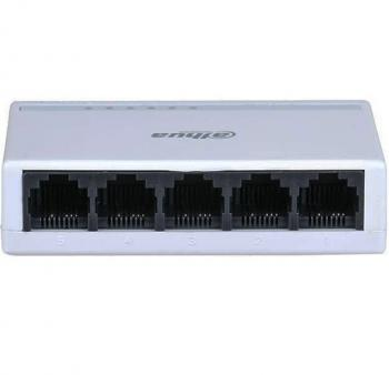 5-Port 10/100Mbps Switch DAHUA DH-PFS3005-5ET-L
