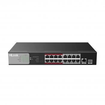 16-Port 100M PoE + 1-Port SFP 1000M Switch HILOOK NS-0318P-135
