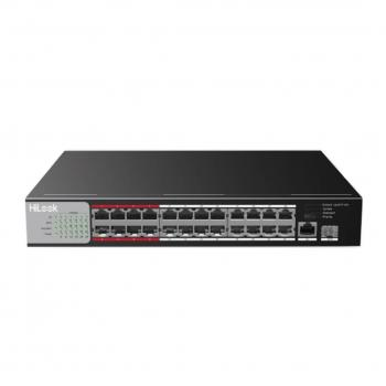 24-Port 100M PoE + 1-Port SFP 1000M Switch HILOOK NS-0326P-225