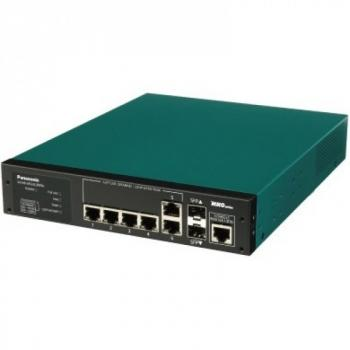 4 port 10/100/1000Mbps PoE+ Switch PANASONIC PN28058