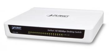 16-port 10/100Mbps Fast Ethernet Switch PLANET FSD-1606