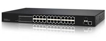 24-Port 10/100Mbps PoE Switch INONET IGS-2624W (500Watt)