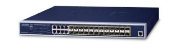 24-port 100/1000X SFP + 8-port Shared TP Managed Switch PLANET GS-5220-16S8C
