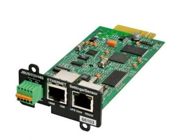Network and MODBUS Card-MS EATON