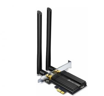AX3000 Wi-Fi 6 Bluetooth 5.0 PCIe Adapter TP-LINK Archer TX50E