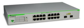 16 port 10/100/1000T ports WebSmart Switch ALLIED TELESIS AT-GS950/16