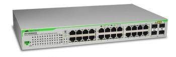 24 x 10/100/1000T ports WebSmart Switch ALLIED TELESIS AT-GS950/24