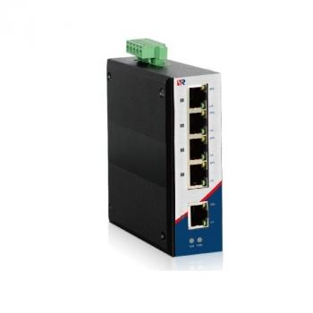 5-port Industrial DIN-Rail PoE Switch WINTOP YT-RS205-1F4T-AT