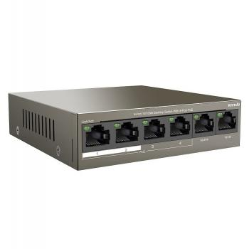 6-port 10/100Mbps with 4-port PoE Switch TENDA TEF1106P