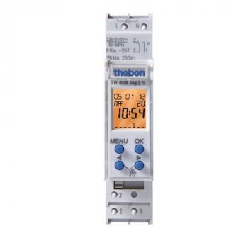 Digital Time Switches THEBEN TR 608 top2 S